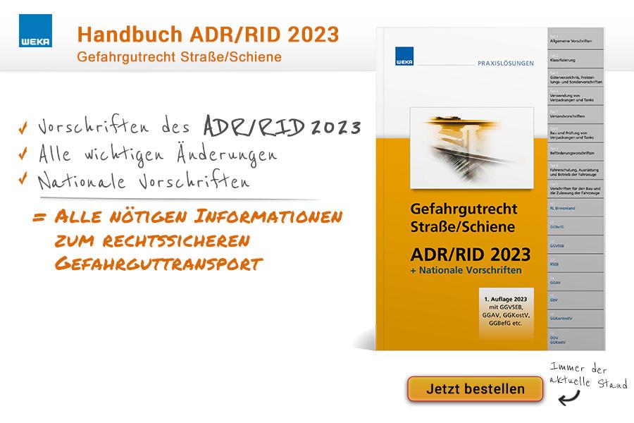 ADR/RID 2019